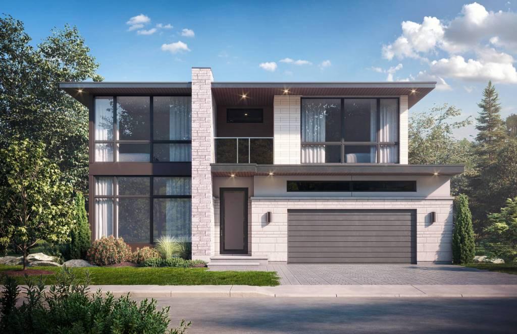 exterior 3d rendering